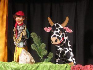 Kasper mit Kuh