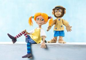 Pippi Langstrumpf und Herr Nilsson